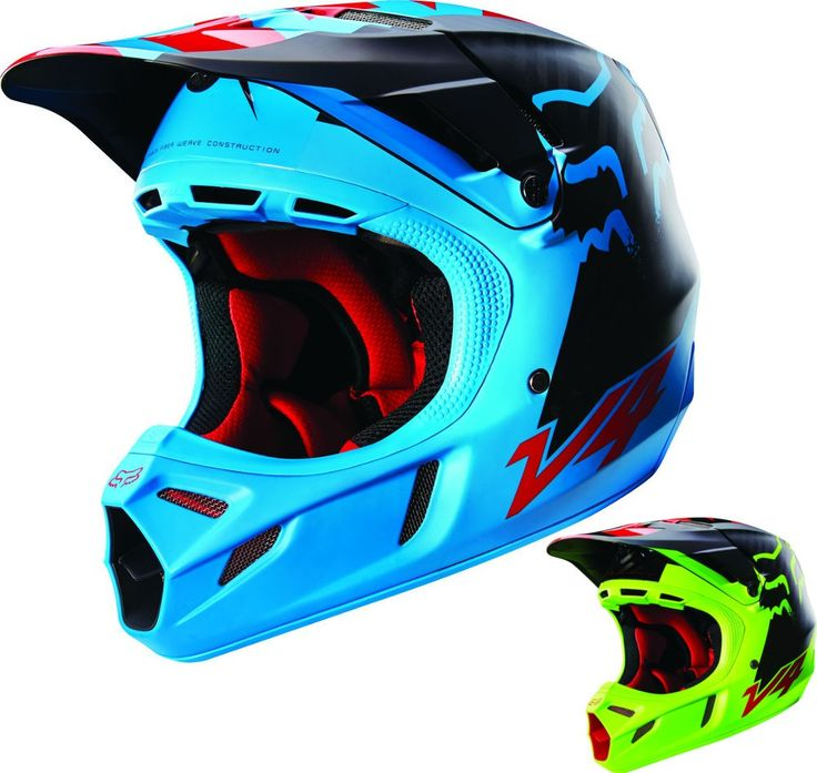 Fox Racing V4 Libra w/MIPS Mens Motocross Helmets