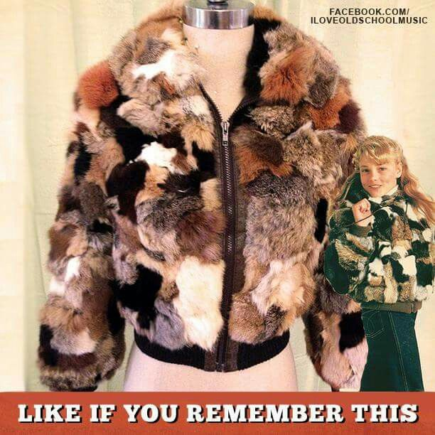 Oh my girls begged for their rabbit coats. Each received one for Christmas in the 70s :)