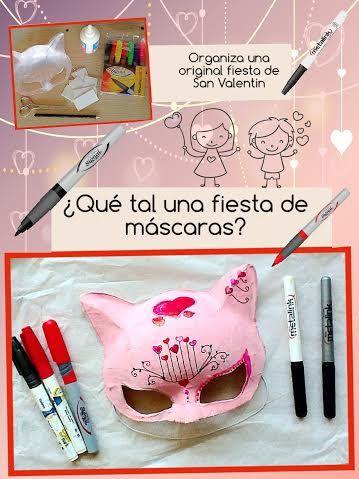 ¡Hagamos una fiesta de máscaras este San Valentín!   #ConAzor