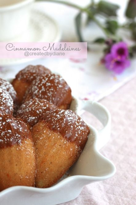 Cinnamon Madeleines - I LOVE Madeleines!  I never tried a cinnamon one before though...  That's definitely going to change soon!