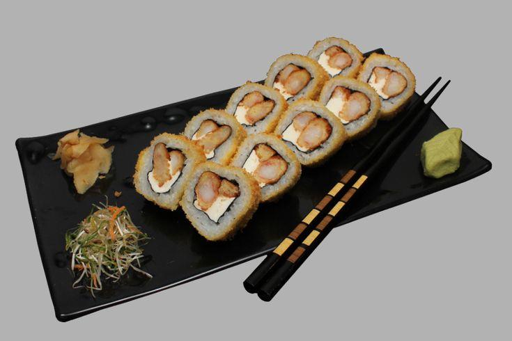 Ebiriaki extreme roll recetas de comida sushi