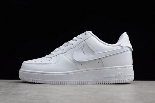 High Quality Nike Air Force 1 07 QS Velcro Swoosh Pack White AH8462-102 For 501837159150