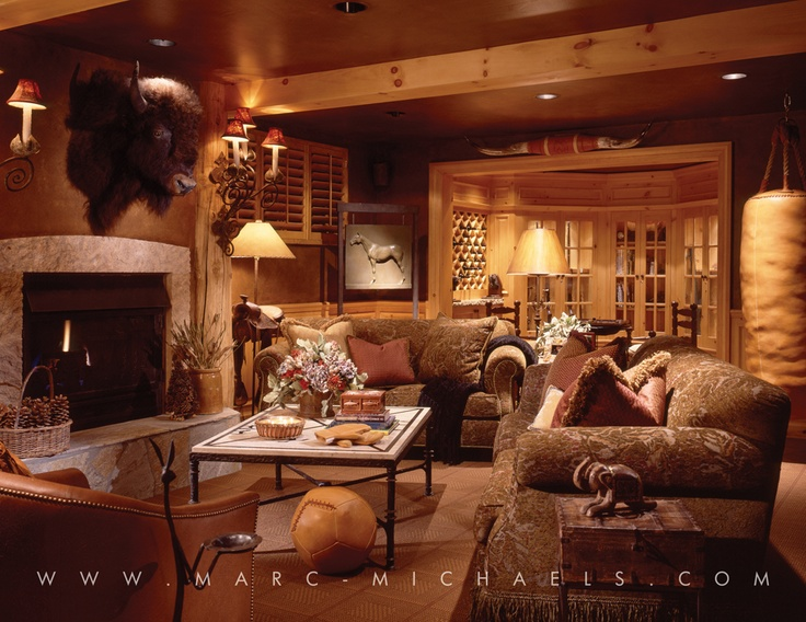 15 best images about rustic lodge residences on pinterest for Interior design living room rustic