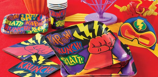 Addobbi festa compleanno Super Eroi per bambini
