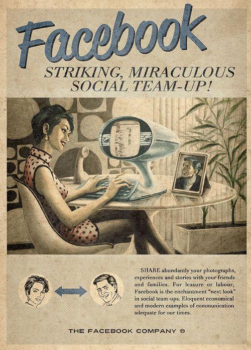 Retro #Facebook | ffffound.com