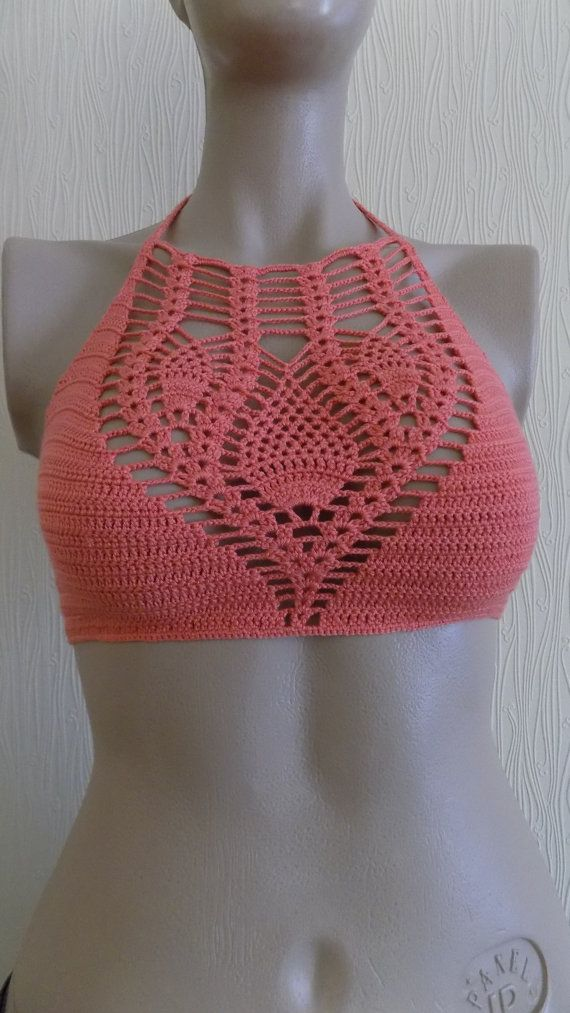 Top Cropped Coral <3