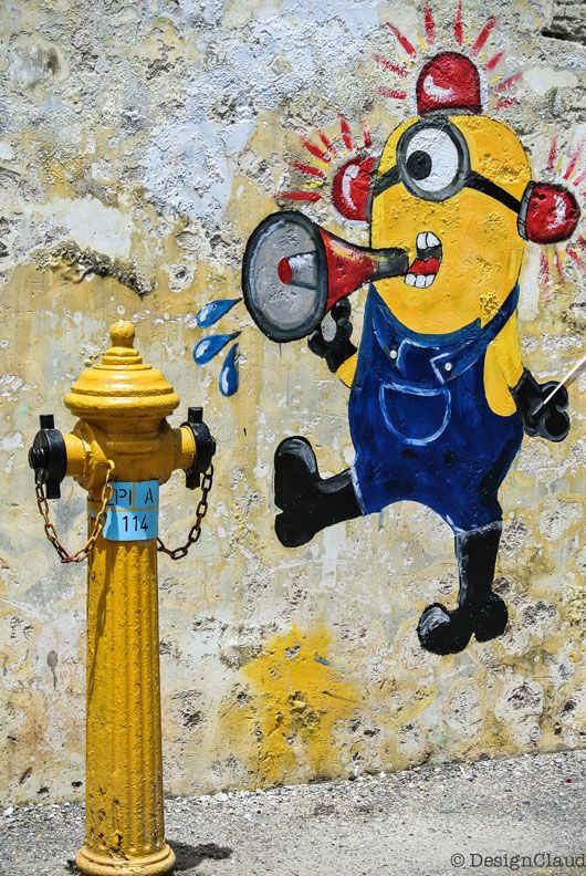 Street Art in George Town Penang - Malaysia by DesignClaud