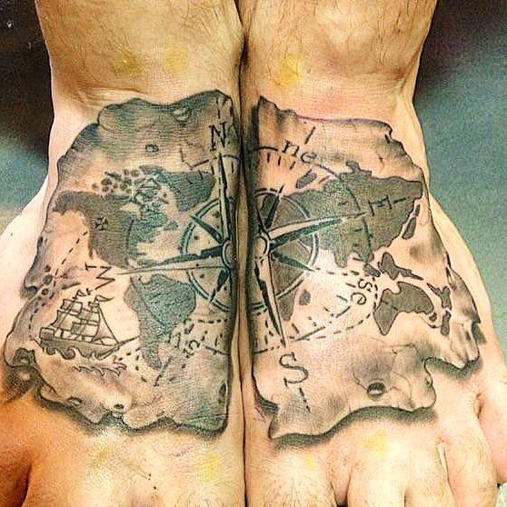 197 best images about compass travel ink on pinterest for Renaissance tattoo san clemente