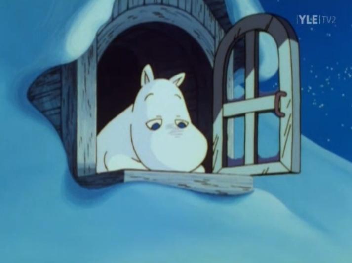 Moomin's bored #muumimeri
