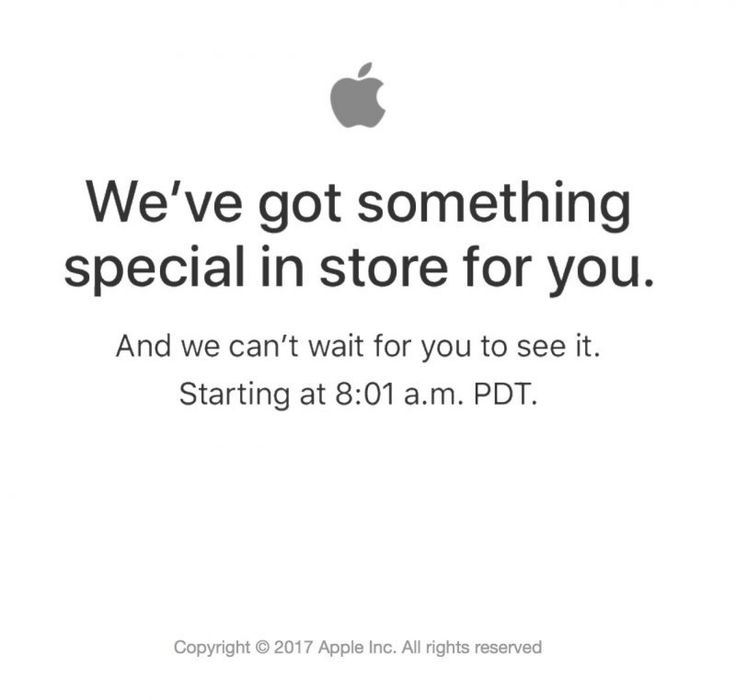 Apple Store Down in Advance of (PRODUCT)RED iPhone 7 Launch