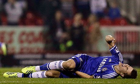 Chelsea's Marco van Ginkel out of World Cup with ligament injury