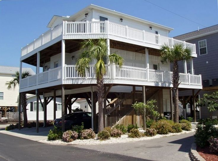 House vacation rental in myrtle beach from for Beach house vacation ideas