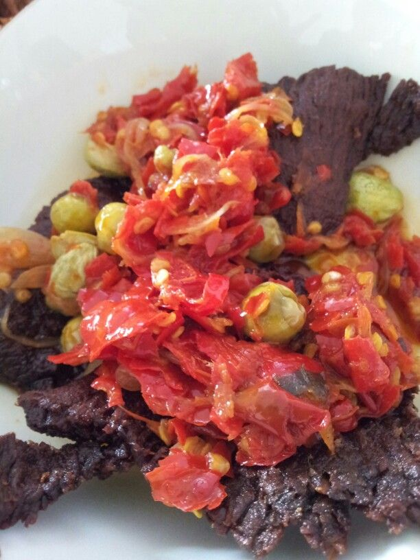 Dendeng Balado #indonesianfood