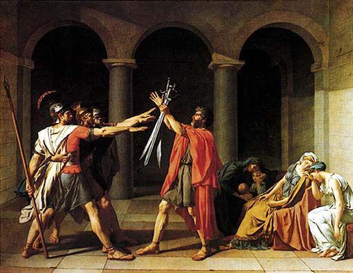 Risultati immagini per neoclassicismo arte david