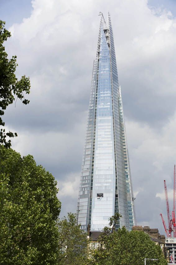 London Bridge Tower, which is also known as the Shard, is a 72 storey mixed use tower located besides London Bridge Station on the south bank of the river Thames. The station, which combines train, bus and underground lines is one of the busiest in Lo