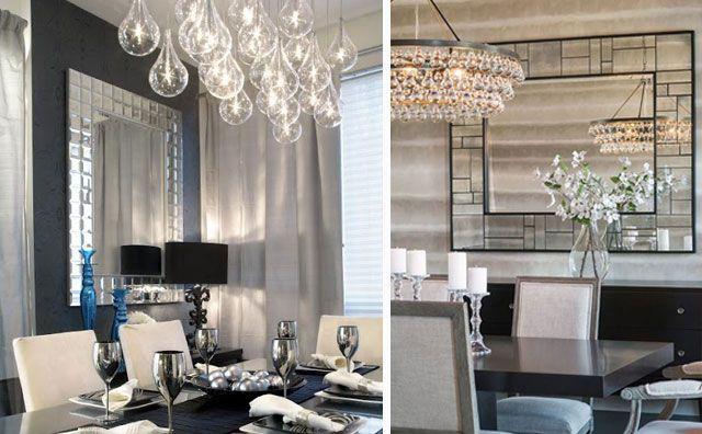 Decofilia blog ideas para decorar con espejos en el for Ideas para decorar el comedor