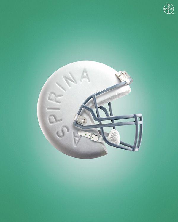 ASPIRINA AD by ADOLFO MURILLO http://arcreactions.com/graphic-design-dreamwest-homes/