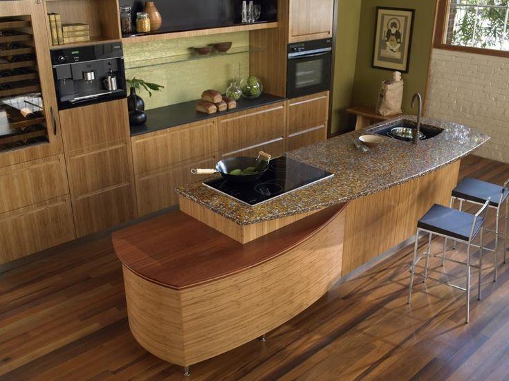 kitchen:awesome japanese modern kitchen bamboo inspiration exotic