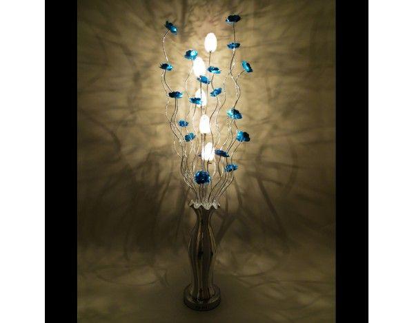 70 best wire floor lamps images on pinterest floor lamps floor silverado ceramic vase woven wire aluminium floor lamp featuring metal blue flowers mozeypictures Image collections
