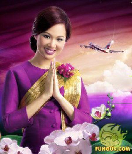 Thai Airlines stewardess