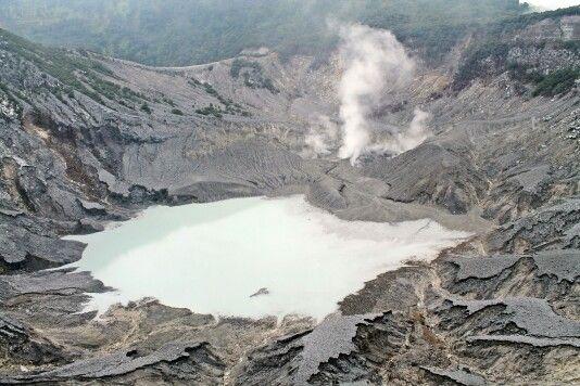 Tangkupan Perahu mountain - Bandung Indonesia