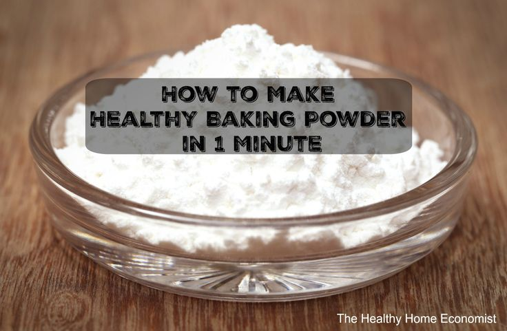 Healthy baking powder is a must in the kitchen of a savvy cook. Used as a leavening agent, baking powder lightens texture and increases the volume of baked goods such as muffins, cakes, pancakes, and
