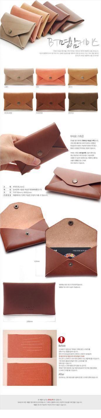 Best 25+ Leather business card holder ideas on Pinterest | Card ...