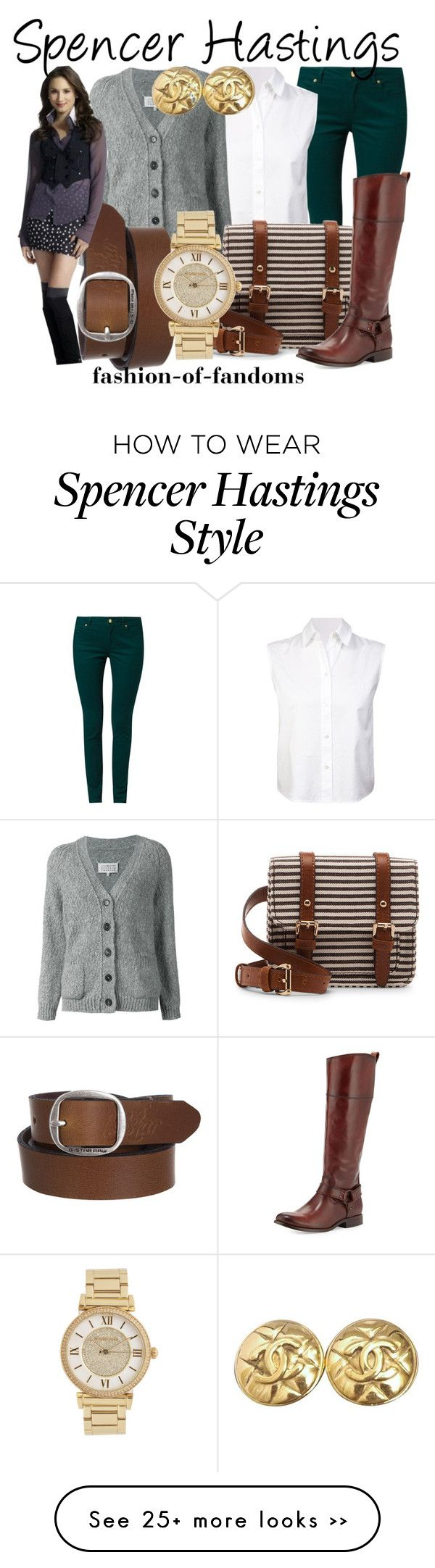 """Spencer Hastings"" by fofandoms on Polyvore"