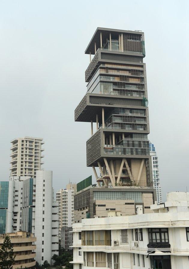 Mukesh Ambani Home, Mumbai(27 Floors)