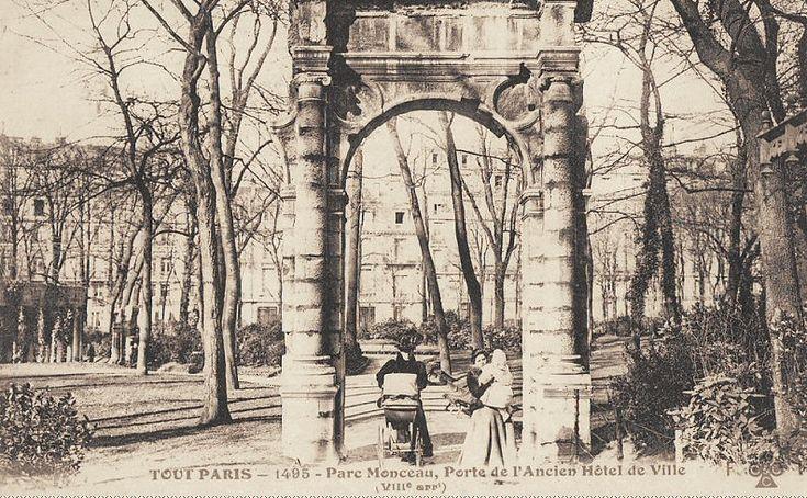 parc Monceau - Paris 8�me