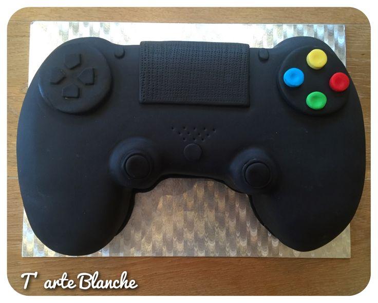 Playstation cake Playstation taart