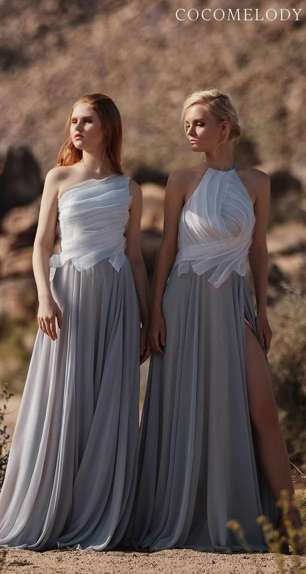 Bridesmaid Dress Trends 2020 With Cocomelody Trending Dresses Velvet Bridesmaid Dresses Bridesmaid Dresses