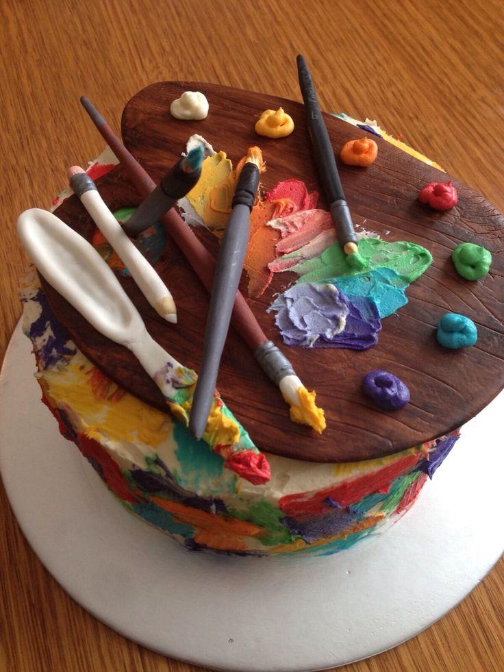 Поздравления с днем рождения подруге художнице