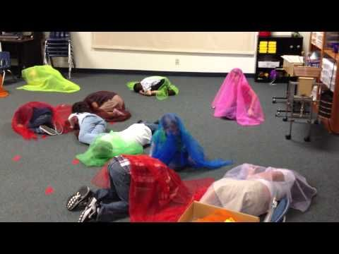 ▶ 2nd Grade moves to Viennese Musical Clock w/Scarfs - YouTube
