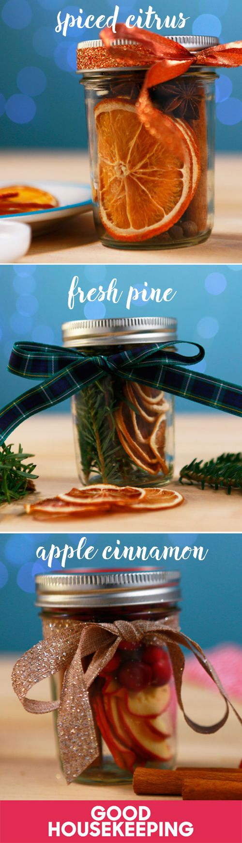 """""""Christmas in a jar"""" will make your whole home smell like the holidays — and it makes a great last-minute gift!"""