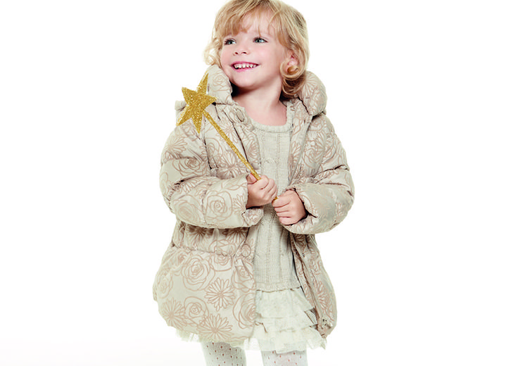 Princess style for her. Happy Golden Christmas time. #OVS #OVSaw15 #OVSkids #OVSchristmastime