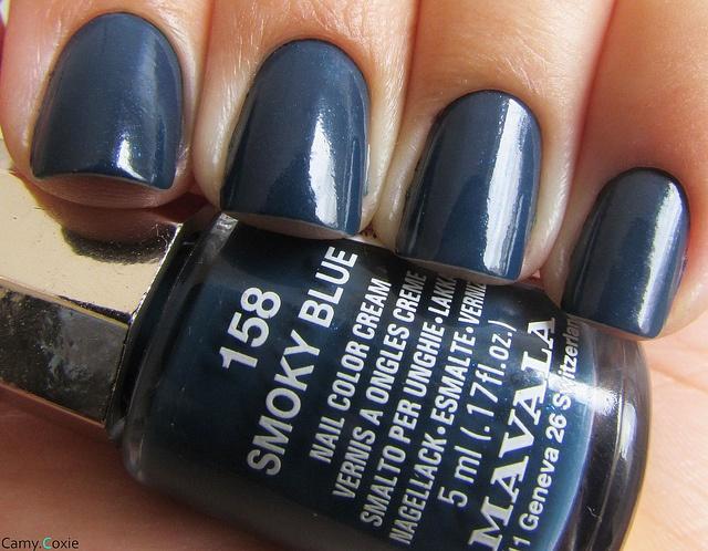 Mavala - Smoky blue | #EssentialBeautySwatches | BeautyBay.com