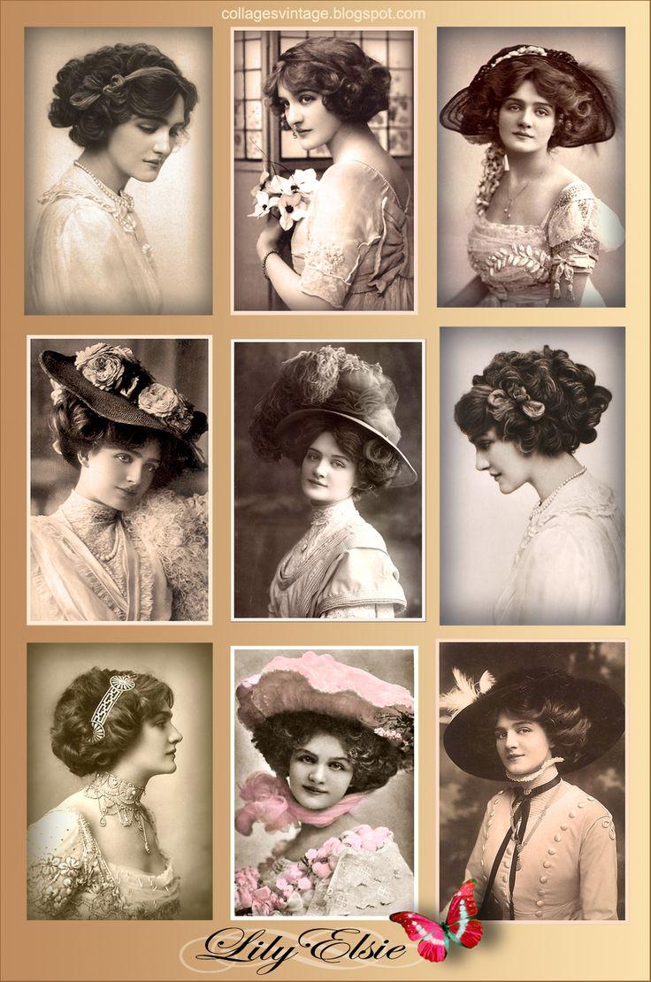 use for printies--collage vintage fotos antiguas  JOANNE