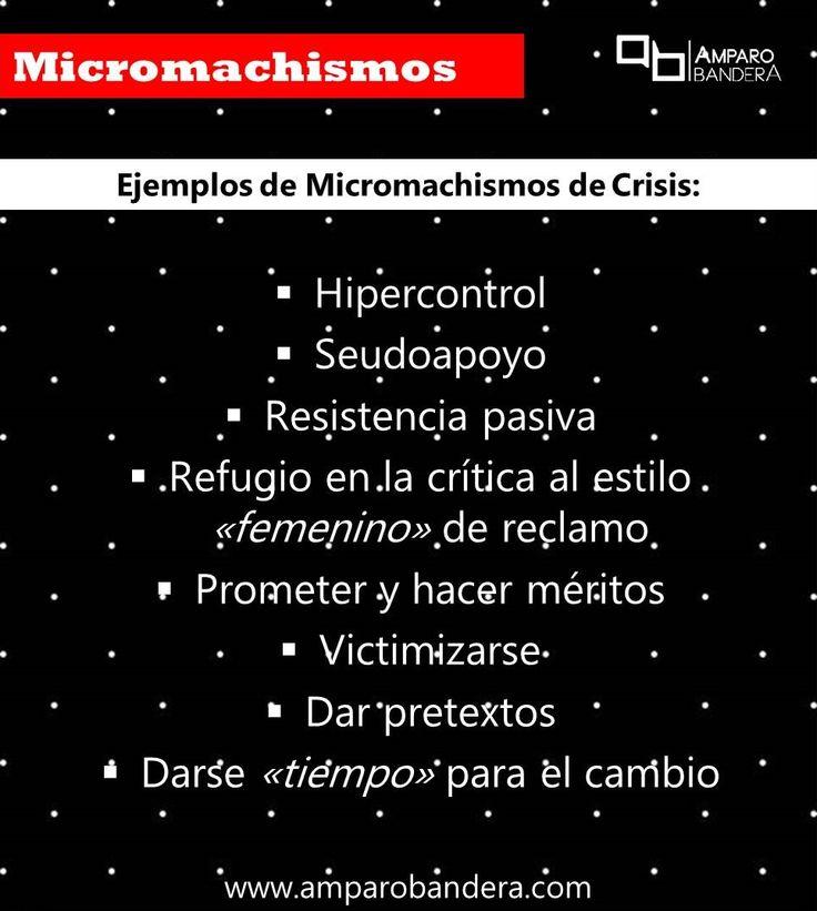 Tipos de Micromachismos #Micromachismo #Micromachismos #mM