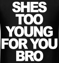 """She's Too Young For You Bro"" Jersey Shore – stayflyclothing.com 