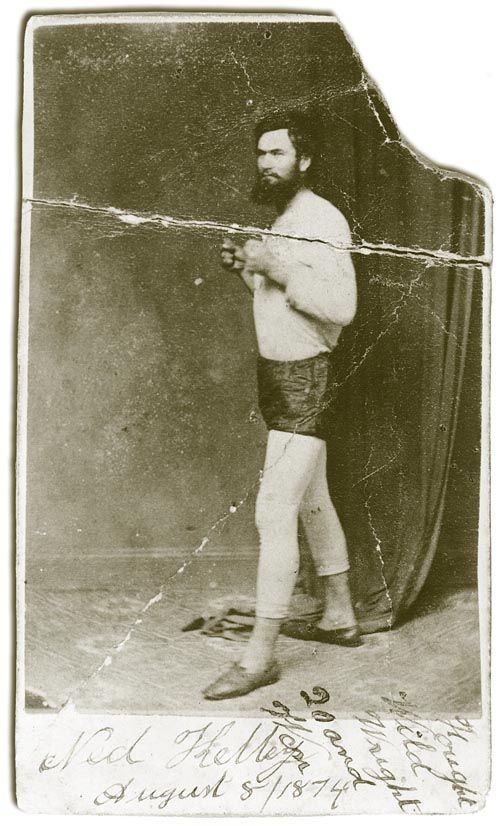 Ned Kelly boxing
