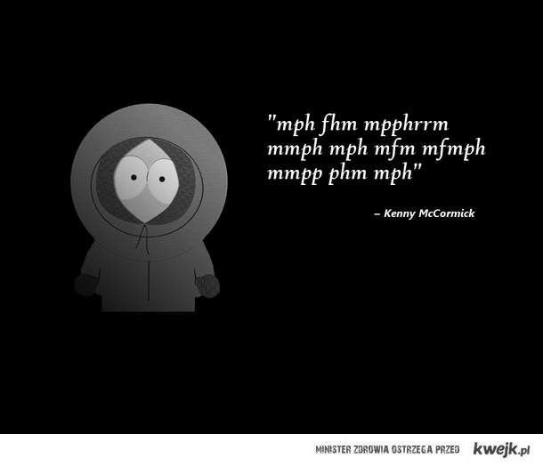 Kenny McCormick | TV Shows | Pinterest | Beautiful, Parks ...