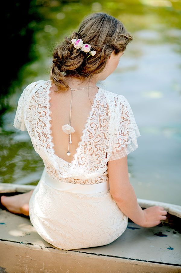 Lovely lace back  Therese und Luise (@bettinahirtreit) 2015 Collection
