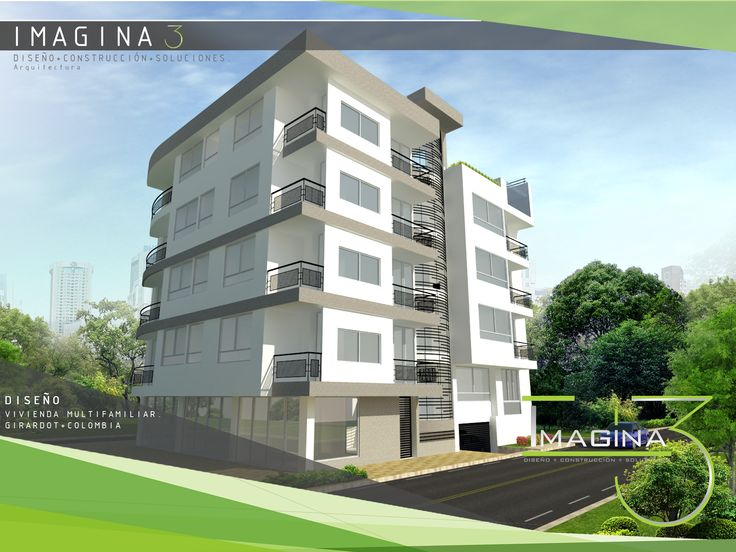 Diseño vivienda multifamiliar Girardot-Colombia #Imagina3 #Arquitectura  gerencia@imagina3.co / + 57 321 324 7617 / +57 (8) 2 76 21 23 / https://www.facebook.com/imagina3.arquitecturayconstruccion