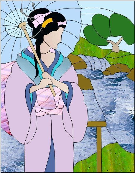Geisha by Manon Cayer https://www.facebook.com/manon.cayer.1