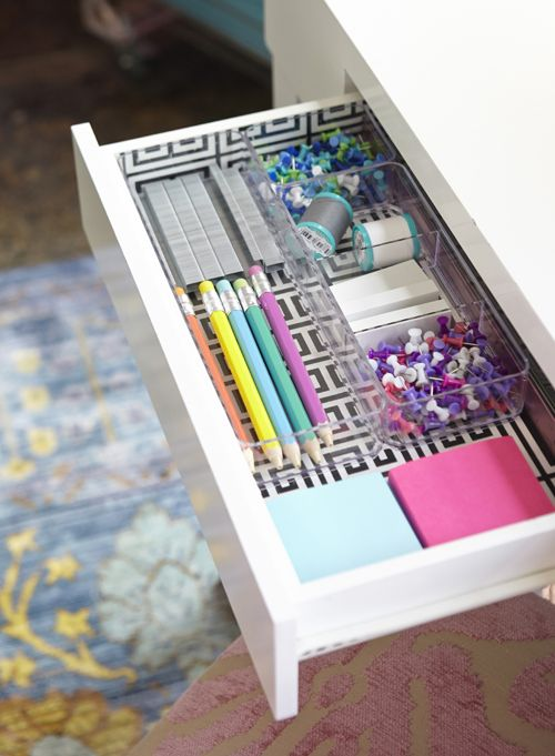 IHeart Organizing: A Happy Home Office with HomeGoods
