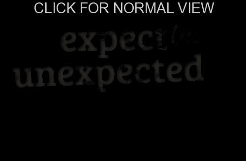 """""""Expect The Unexpected"""" Qalam Nur Expect the"""