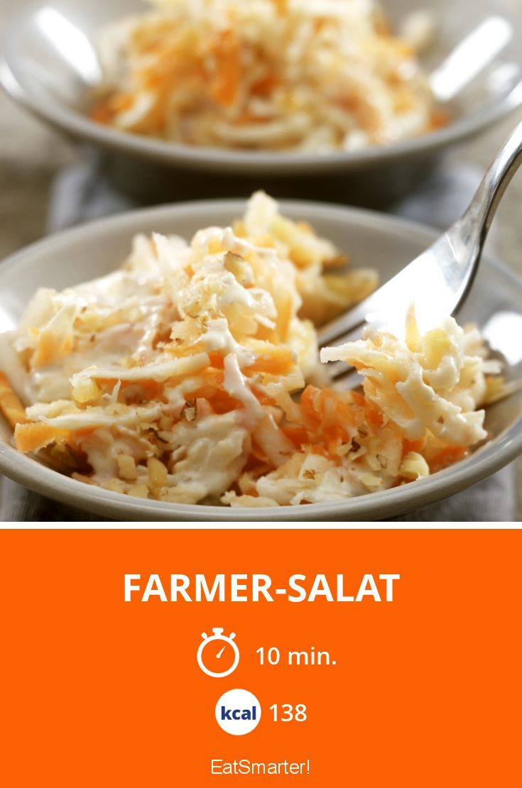 Farmer-Salat - smarter - Kalorien: 138 kcal - Zeit: 10 Min. | eatsmarter.de