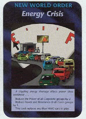 Illuminati Card Game only Publish in 1995