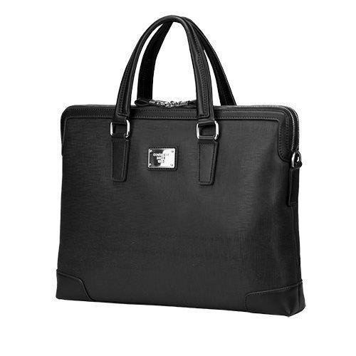 """Continent taška na notebook 15,6"""" CM-161 umělá kůže elegantní černá dámská"""